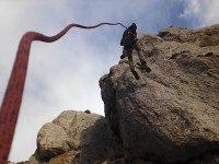 Rapel con cuerda