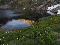 Lago y montana