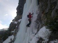 Escalada con hielo