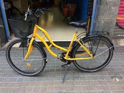 巴塞罗那的城市自行车租赁1小时