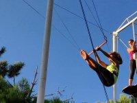 Nuestra joven trapecista