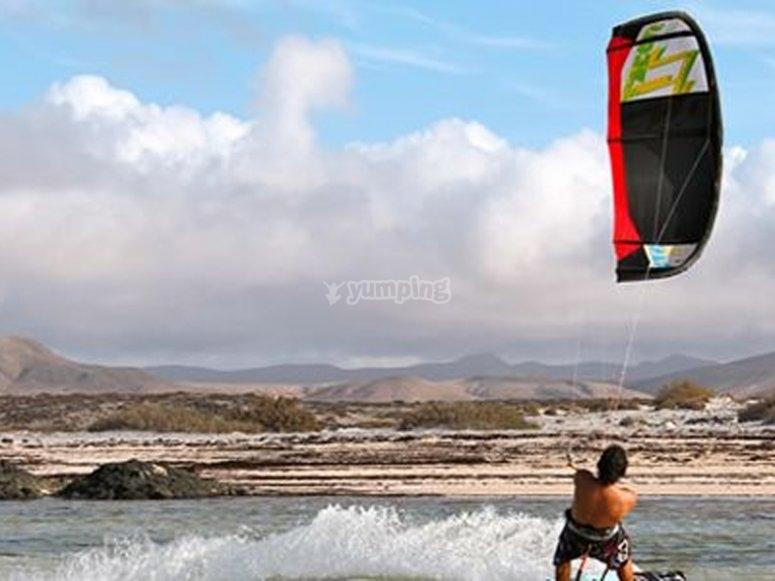 Kitesurfing materials
