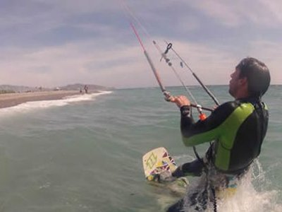 Miglioramento del corso di kitesurf Roquetas de Mar