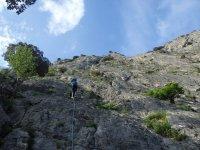 Descendiendo la montaña
