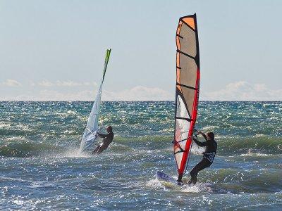 Corso di windsurf di livello base ad Almería