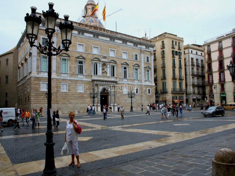 Sant Jaume广场