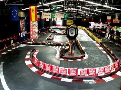 Gara di go-kart a Granada per le aziende