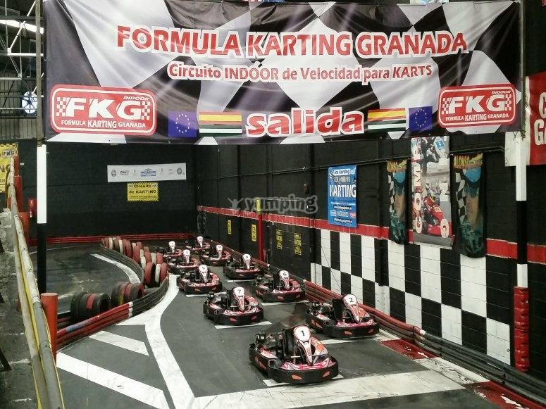 Competición de karts