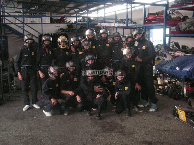 Grupo para la carrera