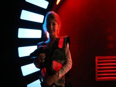 Cumpleaños laser tag BCN 2 partidas y pica pica