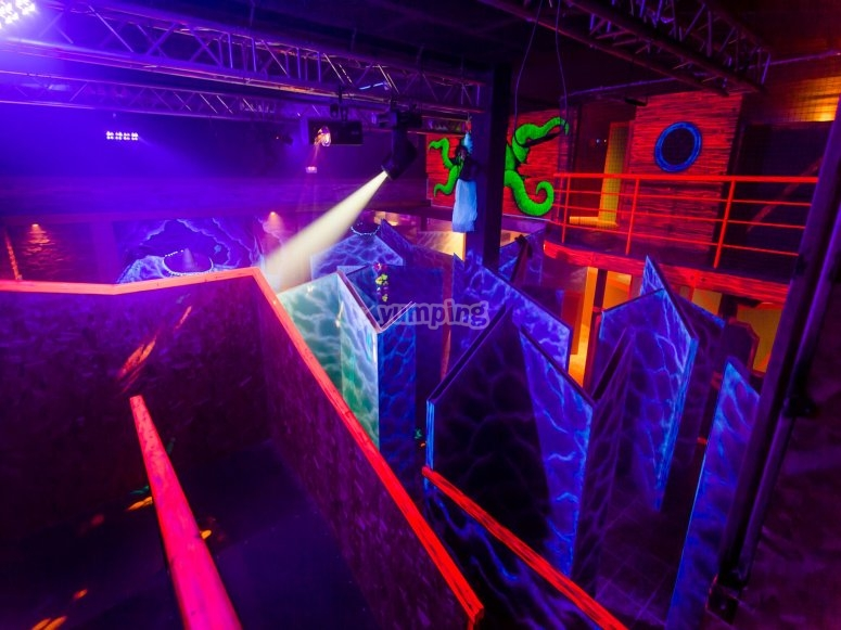 laser tag barcelona castelldef