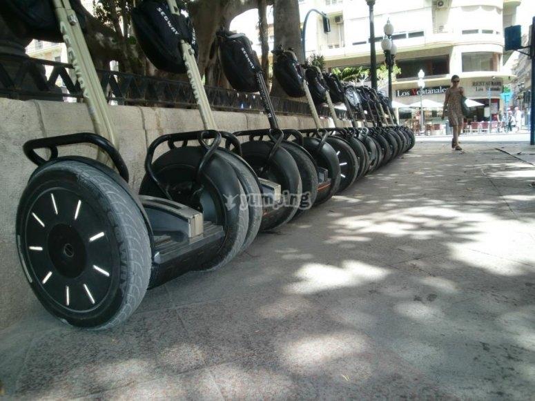 segway, un vehículo muy útil y fácil de manejar