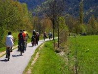 乘坐山地自行车前往Vilamarxt