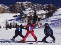 在Baqueira滑雪