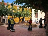 Visitare luoghi storici in segway