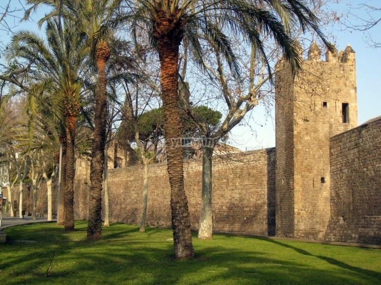 Muralla del Portal de Santa Madrona