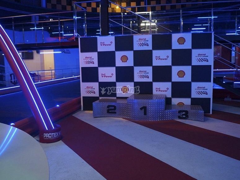 Nuestro podium de karting