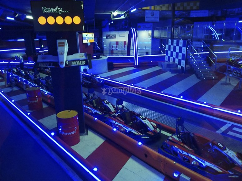 Pista de Karting indoor en Barcelona