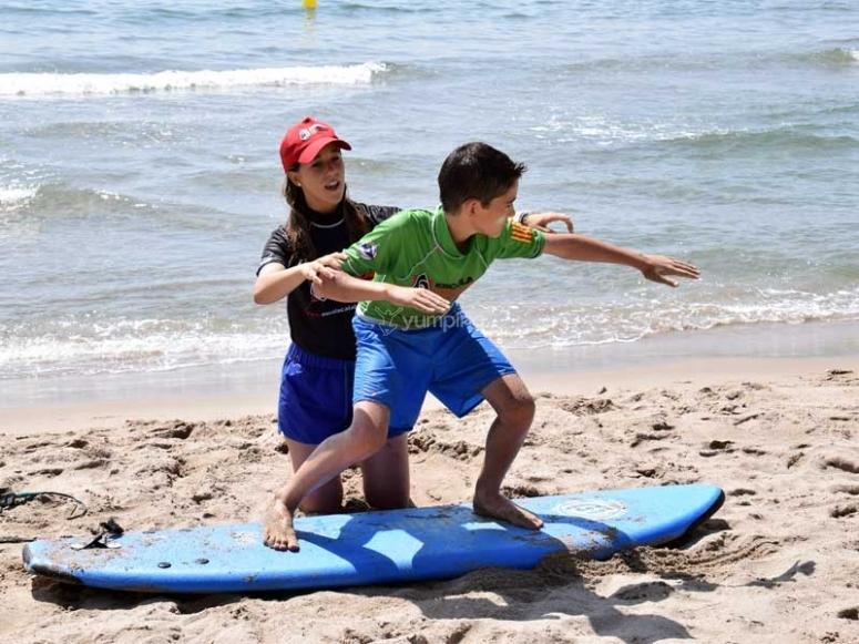 Aprenderás conceptos básicos de surf