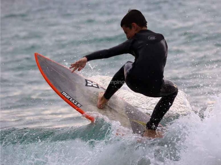 Surfearás las olas
