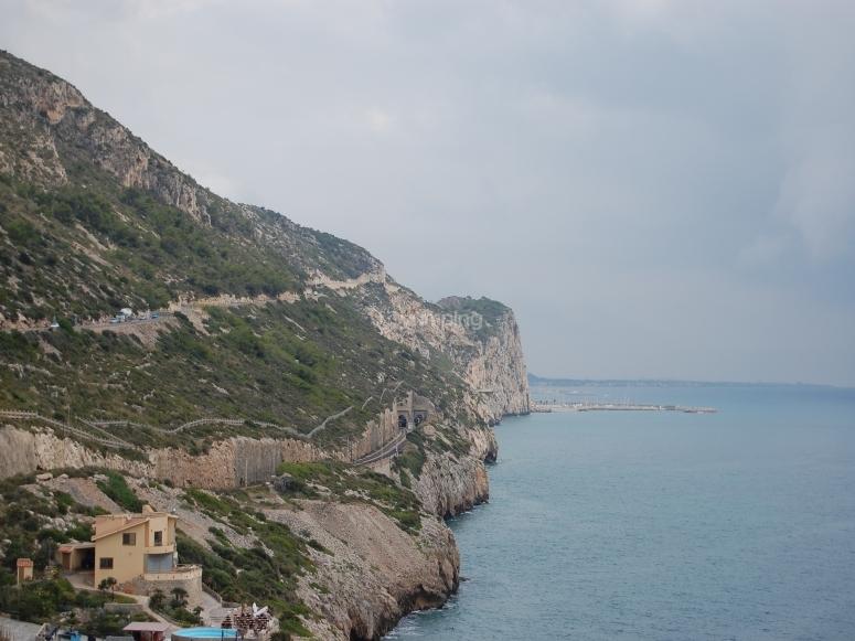 Garraf海岸的壮丽景色