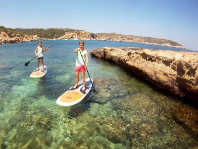 Travesía de paddle surf por la costa del Garraf