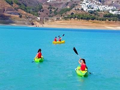 Alquiler de kayak individual en Málaga
