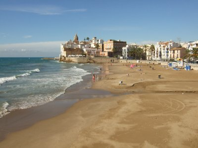 Surf course for beginners Sitges