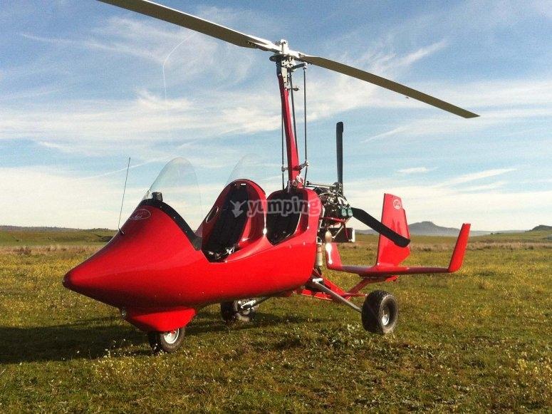 Ven a volar en autogiro en Castellon