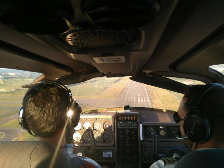 You will go with an expert pilot