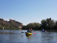 Paddling with the kayaks