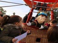 Los Reyes Magos también viajan en globo