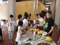 laboratorio di cucina sana