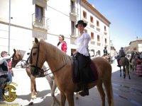 Montando a caballo en Burgo de Osma