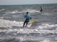 equipo kitesurfing
