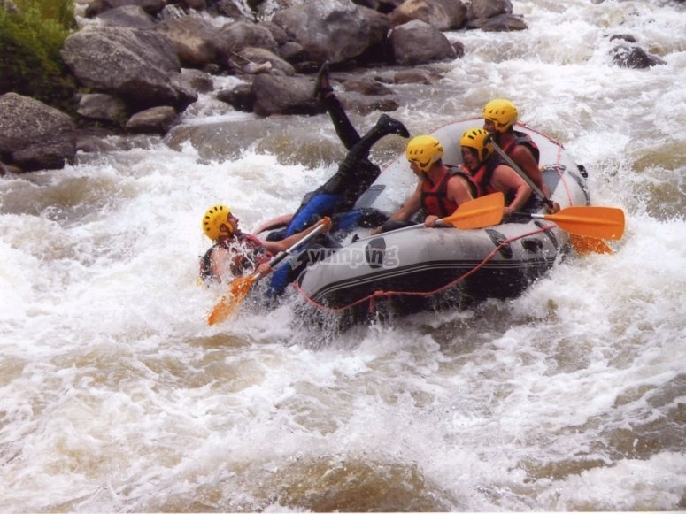 Rafting, a really funny sport