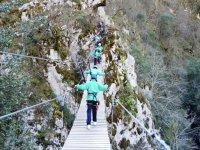 Circuito multiaventura para niños en Asturias