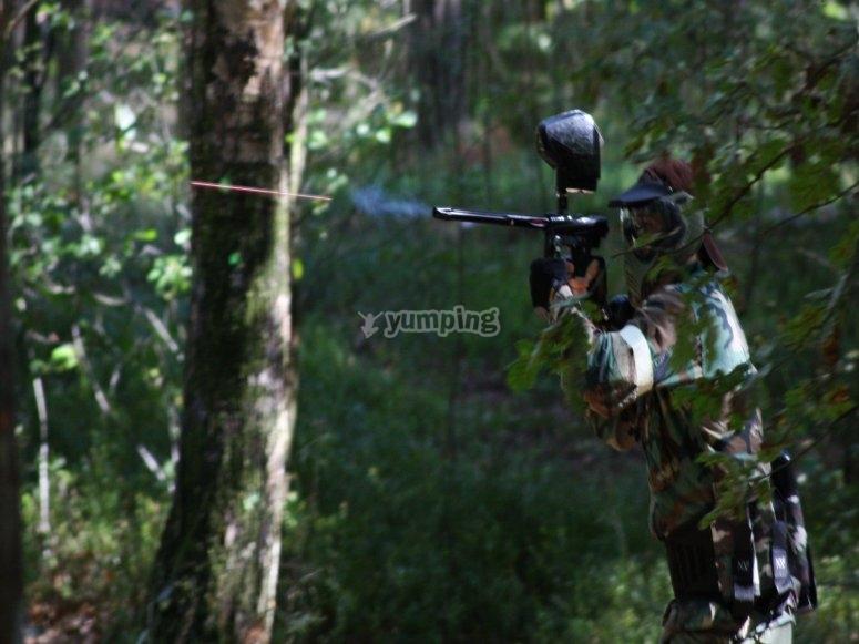 Disparando