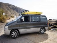 Wagon for surfing
