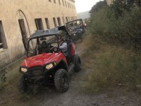 Driving the dune buggies