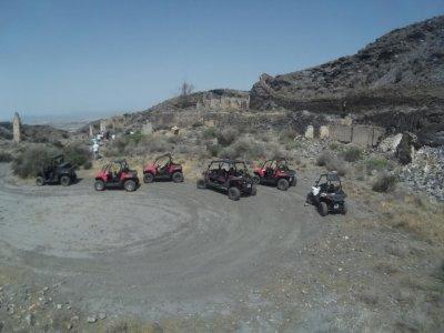 2-seatet buggy ride around Sierra de Almagrera