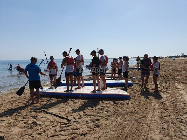 团体大型冲浪板