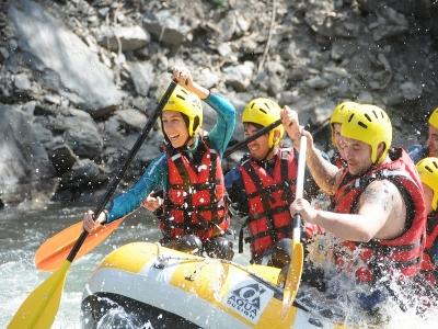 Rafting de Llavorsí a Collegats 40Km con comida