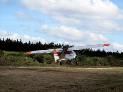 1-hour ultralight aircraft experience in Tuy
