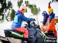 Escursione in motoslitta