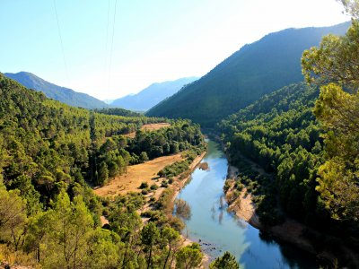 Multi adventure camp in Sierra Cazorla schools