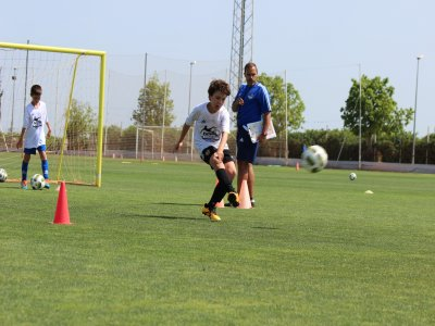 Football camp in Valencia during Christmas