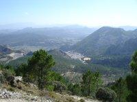 Parque Natural en la Sierra de Grazalema