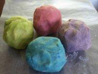 Plastilina de colores