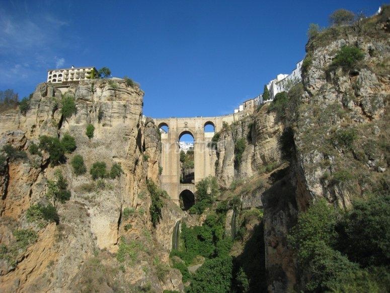 Precioso puente en Ronda